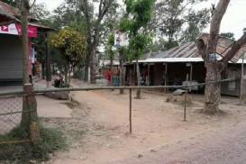 শ্রীপুরে করোনা প্রতিরোধে পাড়া-মহল্লায় ব্যারিকেড