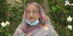 ভিডিও কলে রাজনৈতিক কার্যালয়ে শুভেচ্ছা বিনিময় করলেন প্রধানমন্ত্রী
