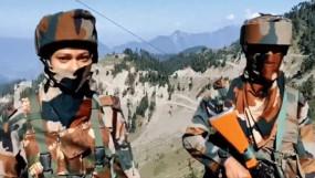 ভারত-পাকিস্তান সীমান্তে 'রাইফেল ওম্যান'