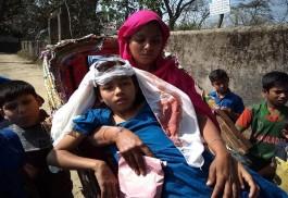 দেবীদ্বারে ছাদের পলেস্তার ধ্বসে শিক্ষার্থী আহত