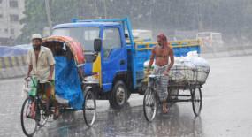 সারা দেশে মৌসুমী বায়ুর বিস্তার, টানা চলবে বৃষ্টিপাত