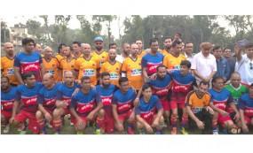 নাগরপুরে আন্তর্জাতিক প্রীতি ফুটবল খেলা অনুষ্ঠিত