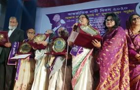 নারী দিবসে ৫ রত্নগর্ভা মা'কে সম্মাননা প্রদান
