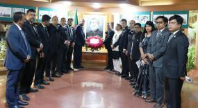 নয়া দিল্লিতে বাংলাদেশ মিশনে বঙ্গবন্ধুর প্রতি শ্রদ্ধা
