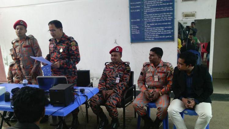 কালিয়াকৈর ফায়ার ষ্টেশনে তিন দিনব্যাপী প্রশিক্ষণ কর্মশালা