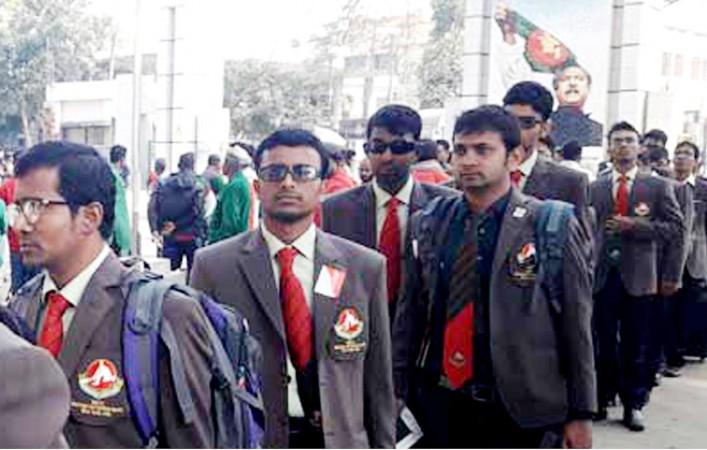 বাংলাদেশ ব্লাইন্ড ক্রিকেট দলের ভারত গমন