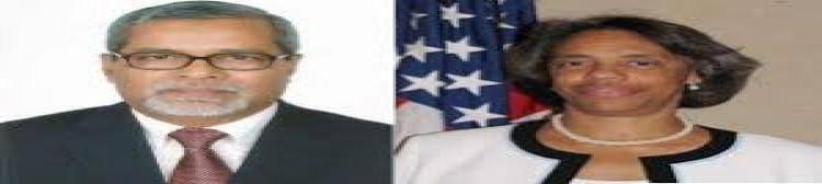 সিইসির সঙ্গে মার্কিন রাষ্ট্রদূতের বৈঠক