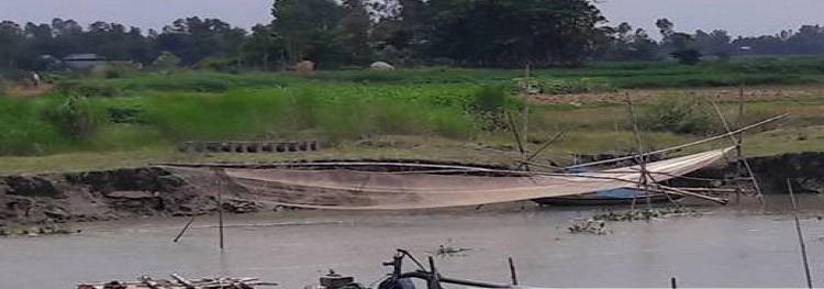 মির্জাপুরে অবৈধ ২টি ড্রেজার ধ্বংস করেছে ভ্রাম্যমান আদালত