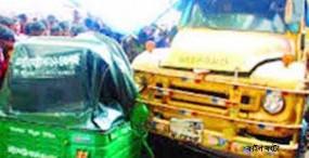 কেন্দুয়ায় ট্রাকের ধাক্কায় সিএনজি চালক নিহত
