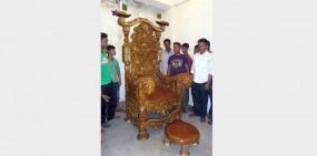 প্রধানমন্ত্রীর জন্য ৫ বছর ধরে চেয়ার তৈরী করেছেন মৌলভীবাজারের বাবুল