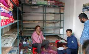 লালমনিরহাট শহরে কাপড়ের দোকানে দুধর্ষ চুরি