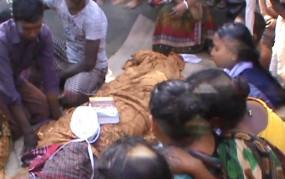 কালিয়াকৈরে চলন্ত ট্রেনের ধাক্কায় যুবকের মৃত্যু