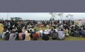দিরাইয়ে 'হাওর বাঁচাও-সুনামগঞ্জ বাঁচাও' আন্দোলনের সভা