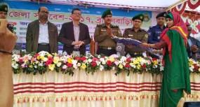 ব্রাহ্মণবাড়িয়ায় আনসার ও গ্রাম প্রতিরক্ষা বাহিনী'র জেলা সমাবেশে-২০১৭ অনুষ্ঠিত