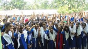 ইন্দুরকানীতে সেতারা স্মৃতি বালিকা বিদ্যালয় জেএসসিতে সেরা