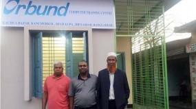 Orbund Launches Computer Training Center in Kancherkol Village in Jhenidah