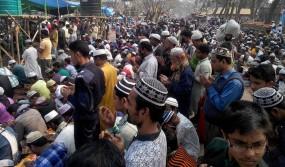 আমিন আমিন ধ্বনিতে শেষ হলো লালমনিরহাট জেলা ইজতেমা