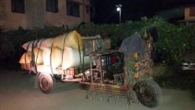 চাঁপাইনবাবগঞ্জে নসিমন ভর্তি ভেজাল হলুদসহ আটক ১