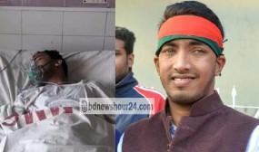 ময়মনসিংহ জেলা ছাত্রলীগ নেতার 'রহস্যজনক' গুলিবিদ্ধ