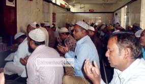 সান্তাহারে খালেদা জিয়ার মুক্তি ও সুস্থতা কমনায় দোয়া মাহফিল