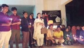 রংপুর ডেন্টাল কলেজে নিহতদের স্মরণে নেপালি ছাত্রদের শোক সভা