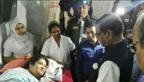 সরকার আহতদের চিকিৎসার সম্পূর্ণ খরচ দেবে: সেতুমন্ত্রী