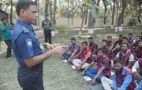 আনসার ও ভিডিপি সর্বদাই পুলিশ বাহিনীকে সহযোগীতা করেছে: এএসপি মিজানুর