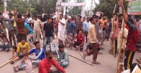হবিগঞ্জে শ্রমিক-পুলিশ সংঘর্ষে আহত অর্ধশত