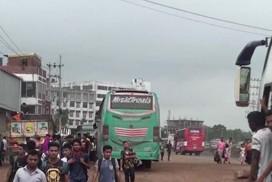 ঢাকা-ময়মনসিংহ  মহাসড়কে যানবাহনের স্বাভাবিক গতি