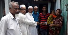 ফেঞ্চুগঞ্জেক্যান্সারে আক্রান্ত রোগীকে আছকর আলী ফান্ডের আর্থিক সহায়তা প্রদান