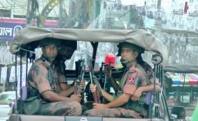 রাজশাহীতে ১৯ প্লাটুন বিজিবি মোতায়েন