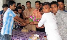 মোড়েলগঞ্জে জাতীয় ছাত্র সমাজে যোগ দিল ৩৫ নেতাকর্মী