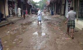 নাগরপুর সদর বাজারের তালতলা রাস্তার বেহাল দশা