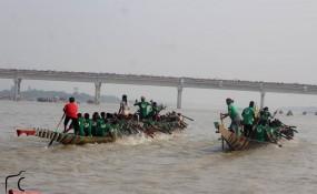 মাগুরা মধুমতি নদীতে নৌকাবাইচ প্রতিযোগিতা অনুষ্ঠিত
