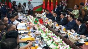 বাংলাদেশ-চীন স্বরাষ্ট্রমন্ত্রী পর্যায়ের বৈঠক চলছে