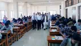 নোবিপ্রবির 'এ' ইউনিটের ভর্তি পরীক্ষা অনুষ্ঠিত, বিকালে 'বি' ইউনিট