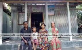 রাজারহাটে আশ্রয়ন প্রকল্প, নতুন ঘরে নতুন স্বপ্ন দেখছে ১৬৭ পরিবার