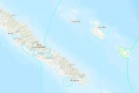 নিউ ক্যালেডোনিয়ায় ৭.৬ মাত্রার ভূমিকম্প, সুনামি সতর্কতা
