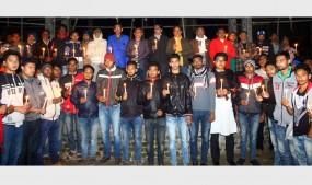 পিরোজপুর মুক্ত দিবসে শহীদদের স্মরণে মোমবাতি প্রজ্বলন