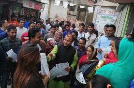 গাজীপুর-১: নৌকার প্রচারণায় ভোটারদের দ্বারে দ্বারে 'সিকদার জয়'