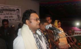 নবাবগঞ্জে আ.লীগের নির্বাচনী জনসভা অনুষ্ঠিত
