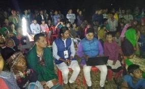 গাজীপুর-১: নৌকার পক্ষে কালিয়াকৈরে প্রদর্শিত হচ্ছে উন্নয়নের প্রামাণ্য চিত্র