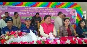 নব-নির্বাচিত এমপিকে বরণ করল শ্রীপুর উপজেলা প্রশাসন