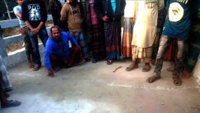 নির্মাণের একসপ্তাহ পর ফাটল ধরেছে 'ঝিকরগাছার পাঁচপোতা সেতুতে'