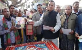 মহম্মদপুর উপজেলা চেয়ারম্যান প্রার্থী জাফর সাদিকের প্রচারণা