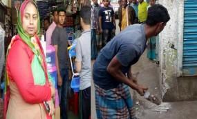 ফেঞ্চুগঞ্জ বাজারে উচ্ছেদ অভিযানে ইউএনও