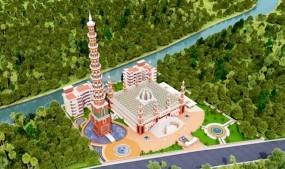 টাঙ্গাইলের বিশ্বরেকর্ড গড়া '২০১ গম্বুজ মসজিদ'