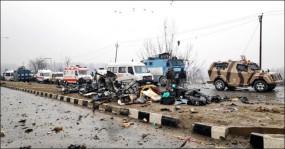 কাশ্মিরে জঙ্গি হামলায় ৪০ সেনা নিহত
