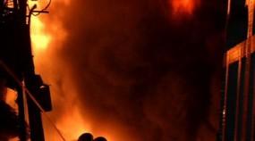 চকবাজারের অগ্নিকাণ্ডের ঘটনায় আজ রাষ্ট্রীয় শোক