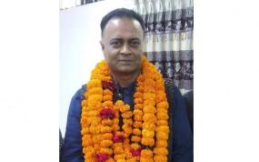 পঞ্চগড় জেলা পরিষদের উপ-নির্বাচনে চেয়ারম্যান হলেন সম্রাট